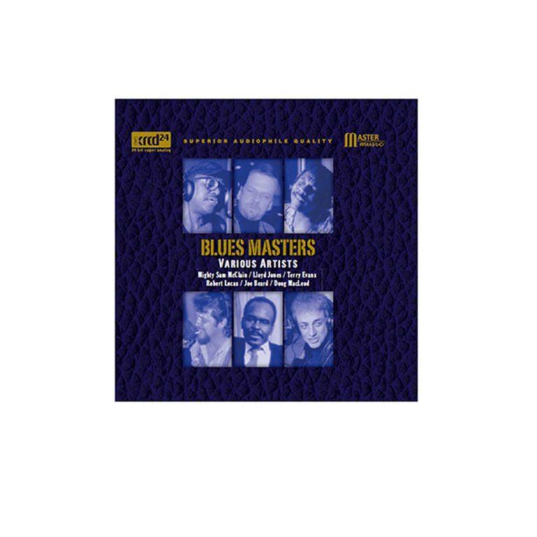blues masters blå cd