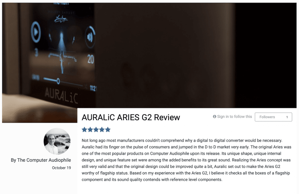 CA Aries G2 Five Stars