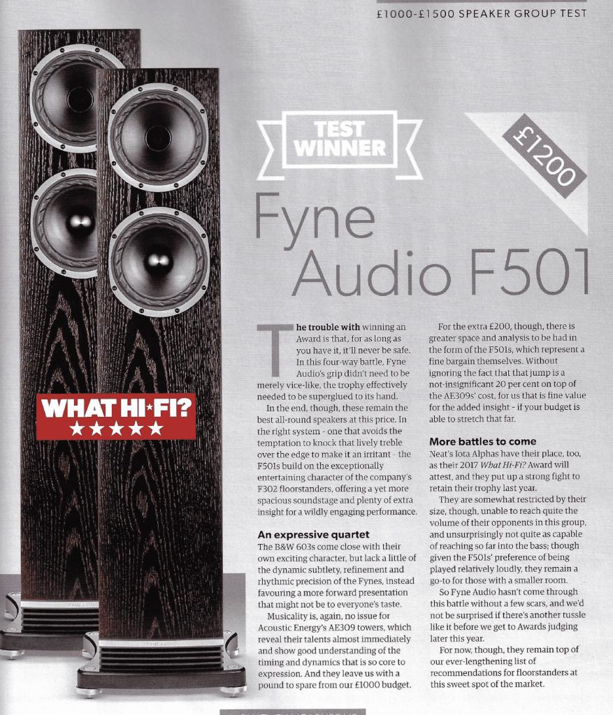 fyne f501