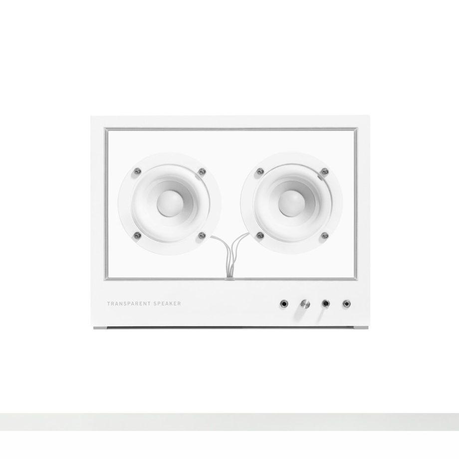 transparent speaker small 1