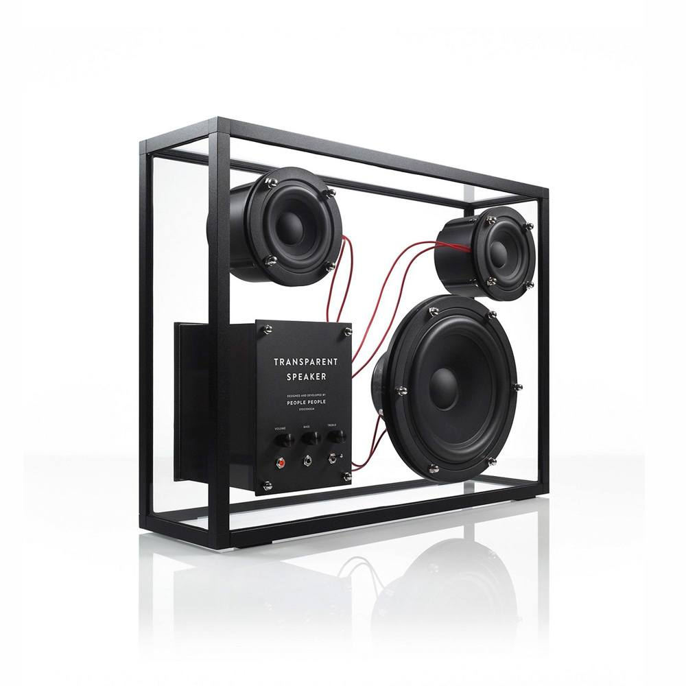 Transparent Speaker - Audio Concept Online Shop