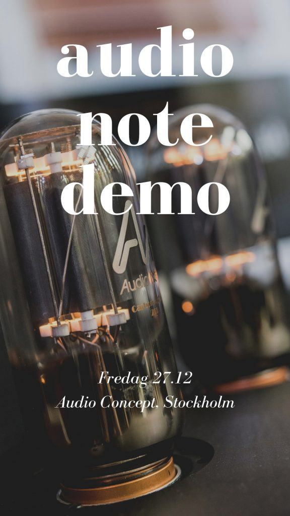 audio note demo